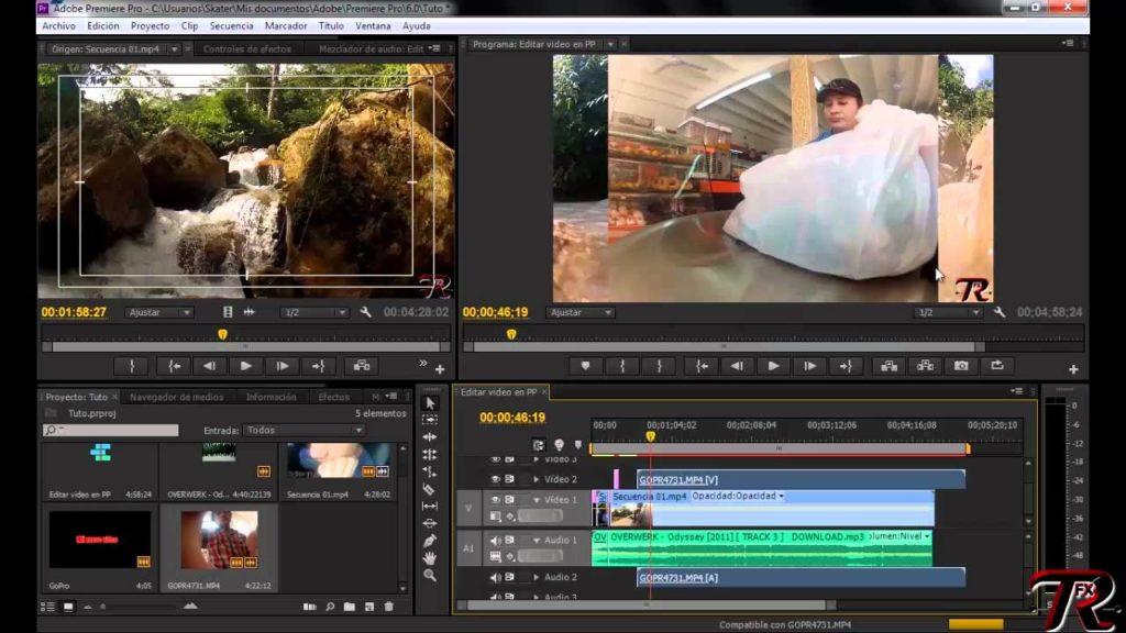 edición de vídeos diferencia montaje