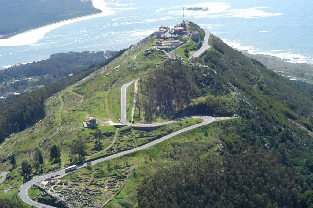 grabar con dron en Galicia Monte da Tecla
