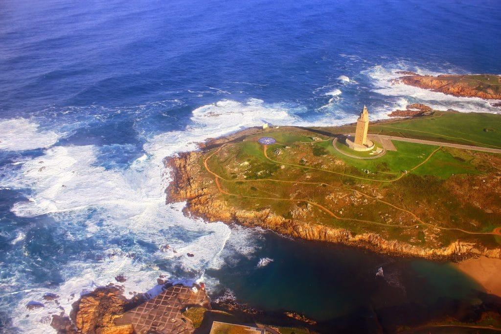 Vídeos con dron en Galicia