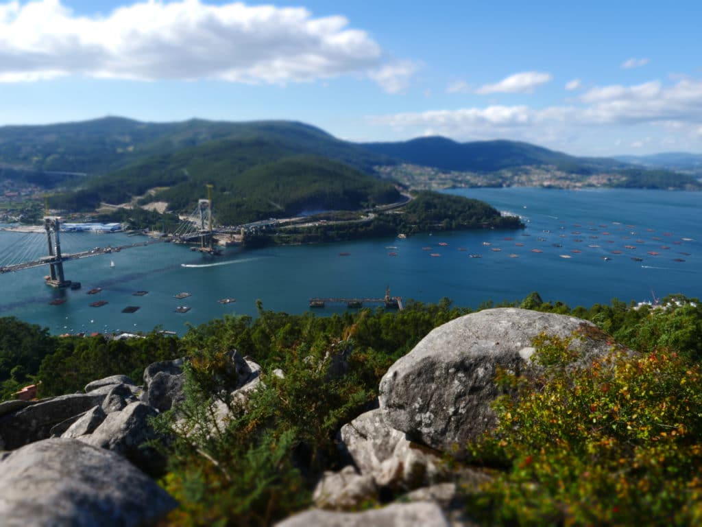 Grabar Ría de Vigo con Dron. Grabar con dron en Galicia
