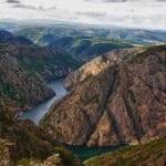 Grabar con Dron en Galicia en Cañones del Sil