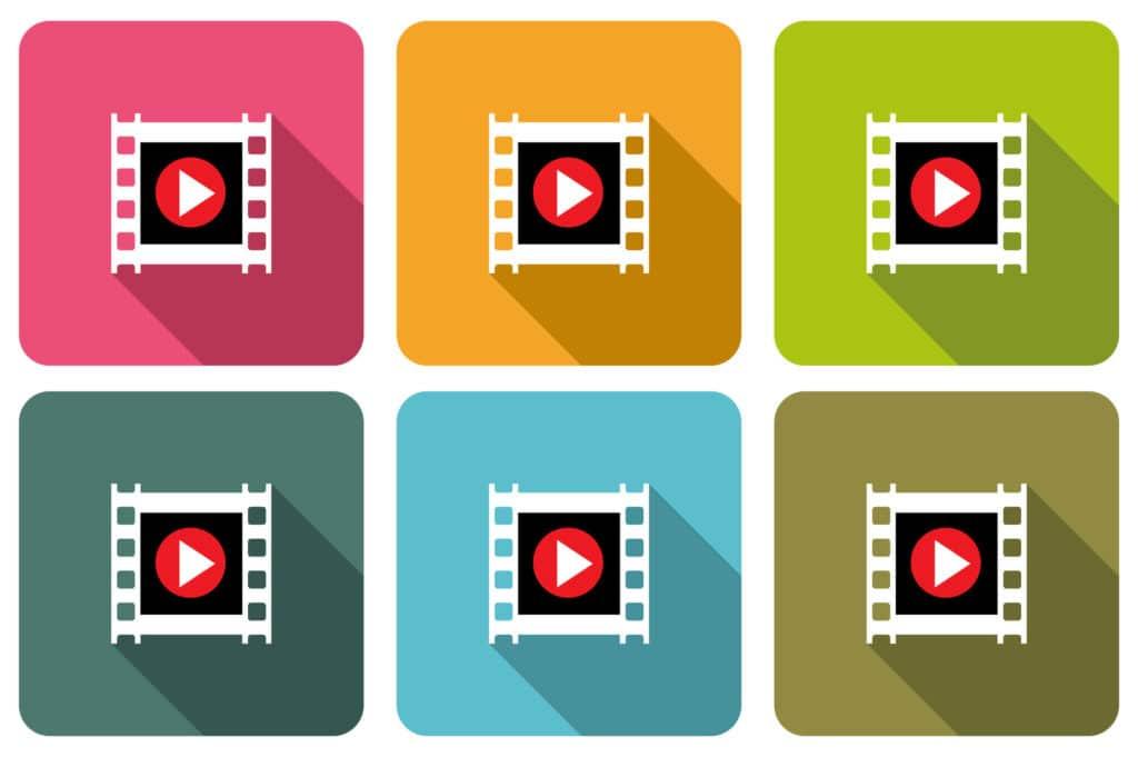 Tipos de formatos de vídeo digital y audio