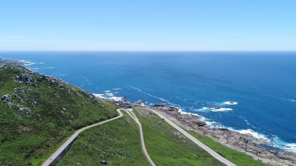 Vídeo aéreo Cabo Silleiro