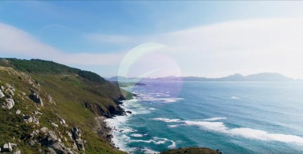 Drones Costa da Vela Video Rías Baixas