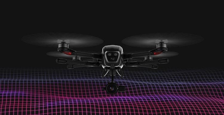 que es un dron termográfico