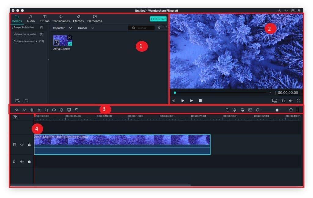 los mejores editores de vídeo gratuitos de Filmora