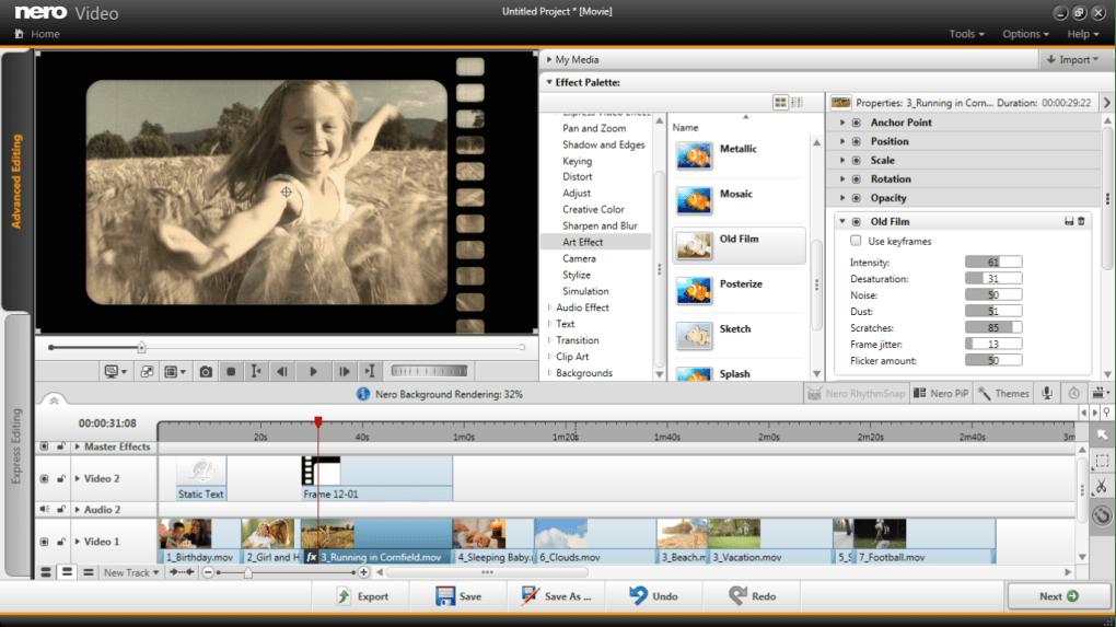 Nero Video Premium 3, editor barato