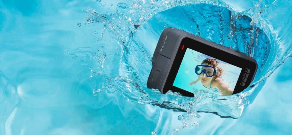 cámaras deportivas acuáticas