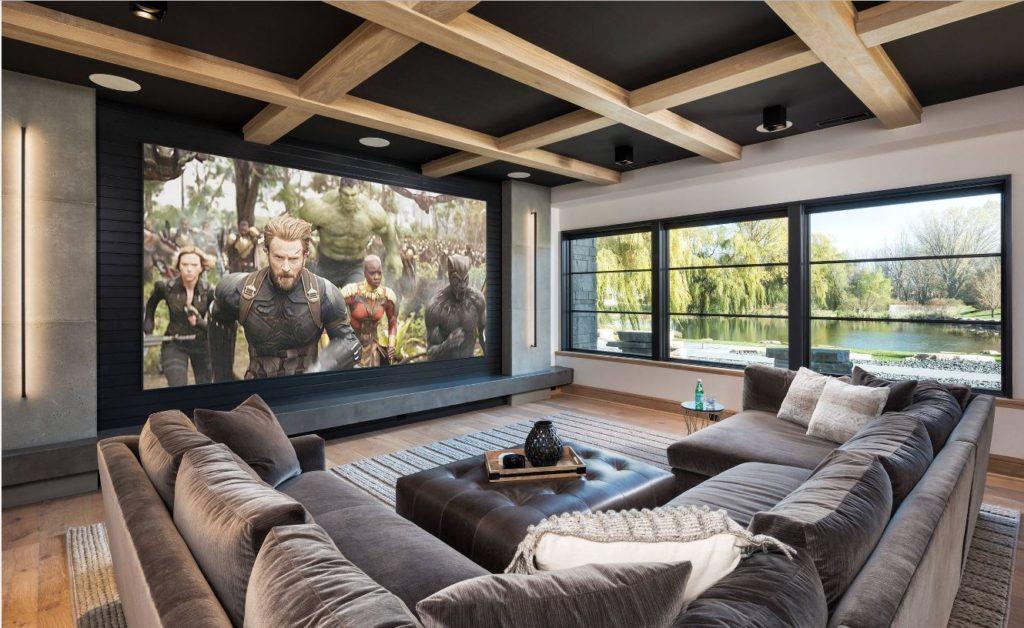 proyectores de video en el hogar 4k