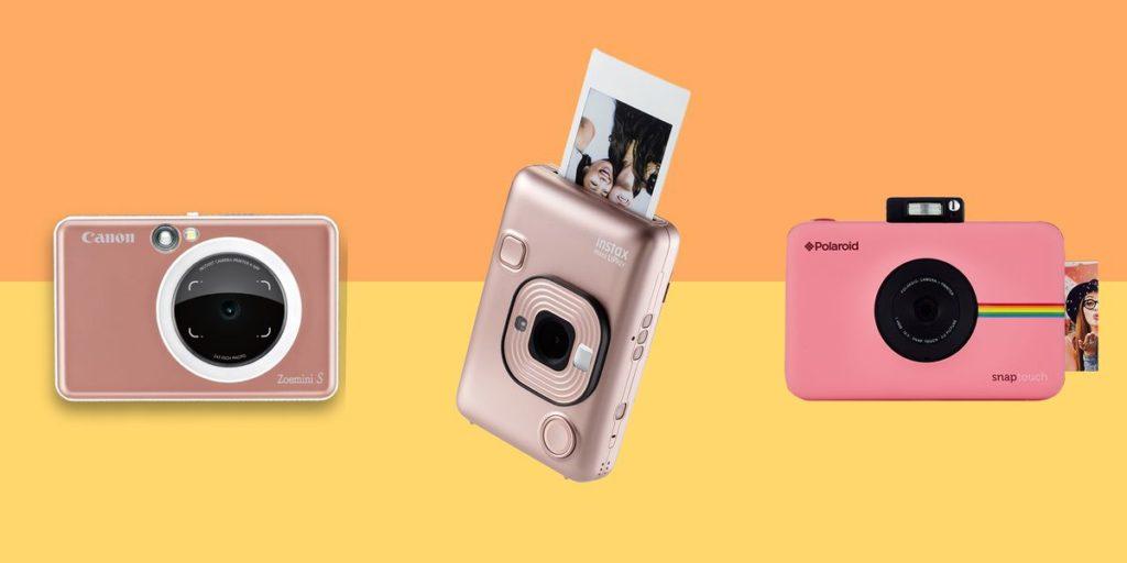 cámaras instantáneas digitales