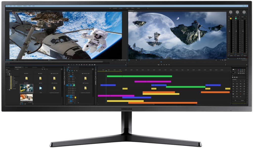 monitores panoramicos planos