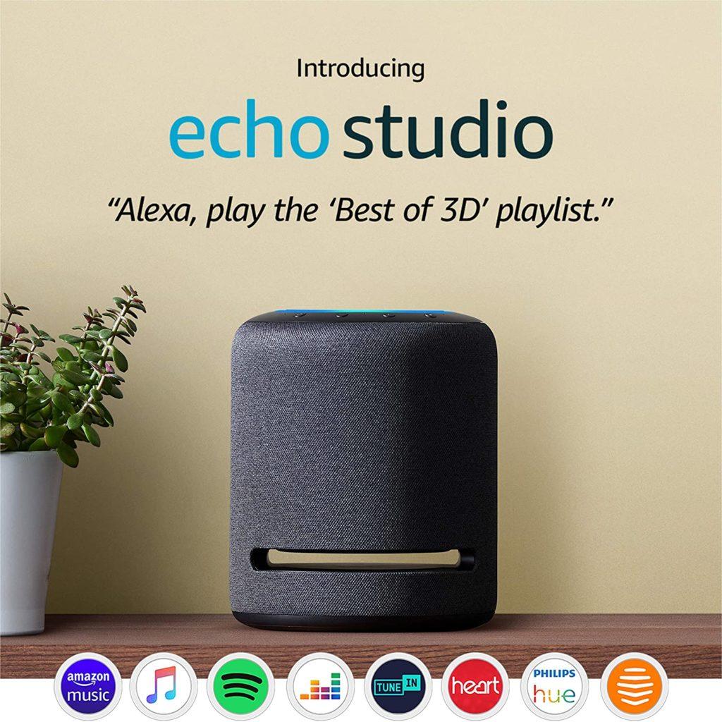Echo Studio Alexa