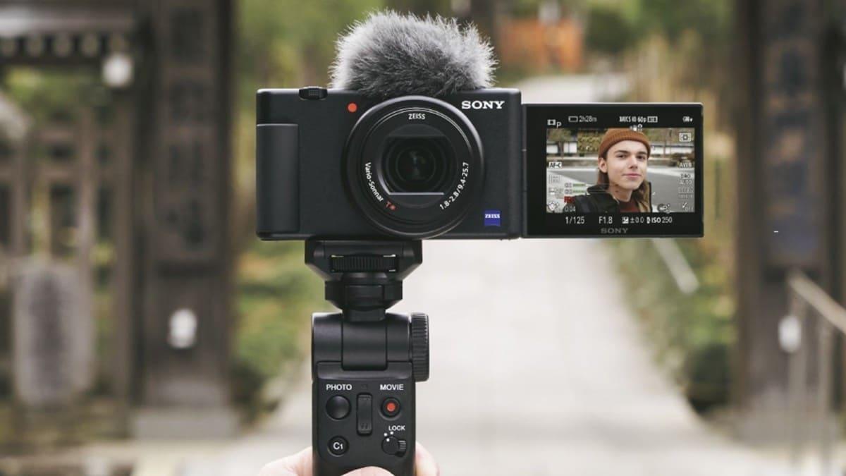 sony zv1 vlogeros cámaras vloggers