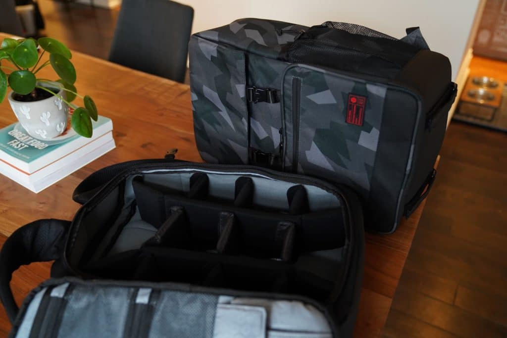 mochilas cámara viajar