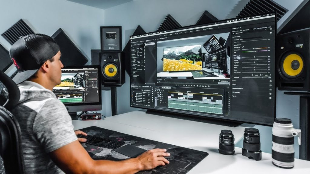 monitores panoramicos grandes