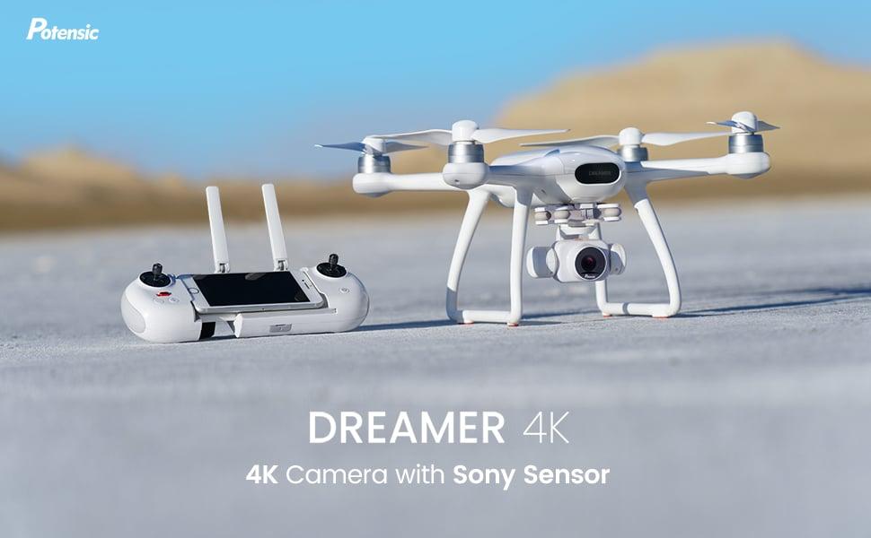 Potensic Dreamer 4k mejor dron barato