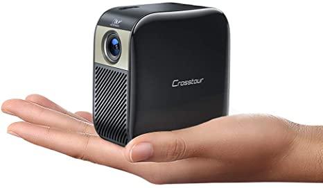 Crosstour mini proyector portátil de mano