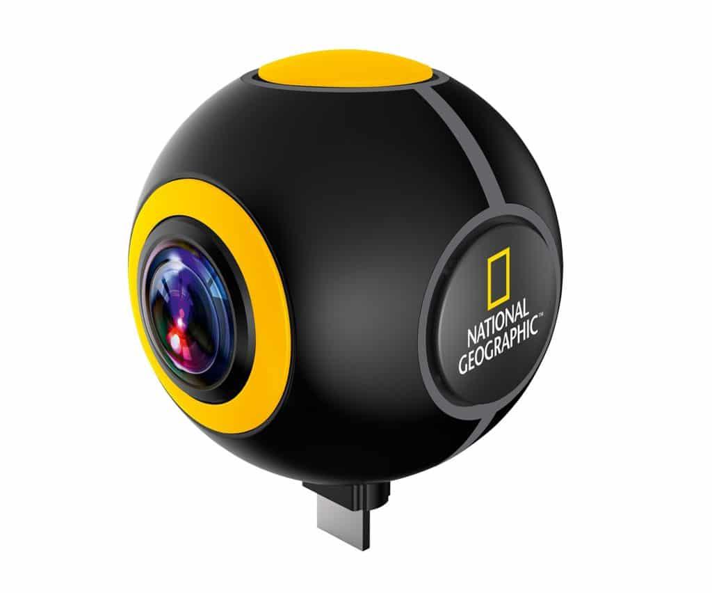 cámara deportiva móvil national geographic
