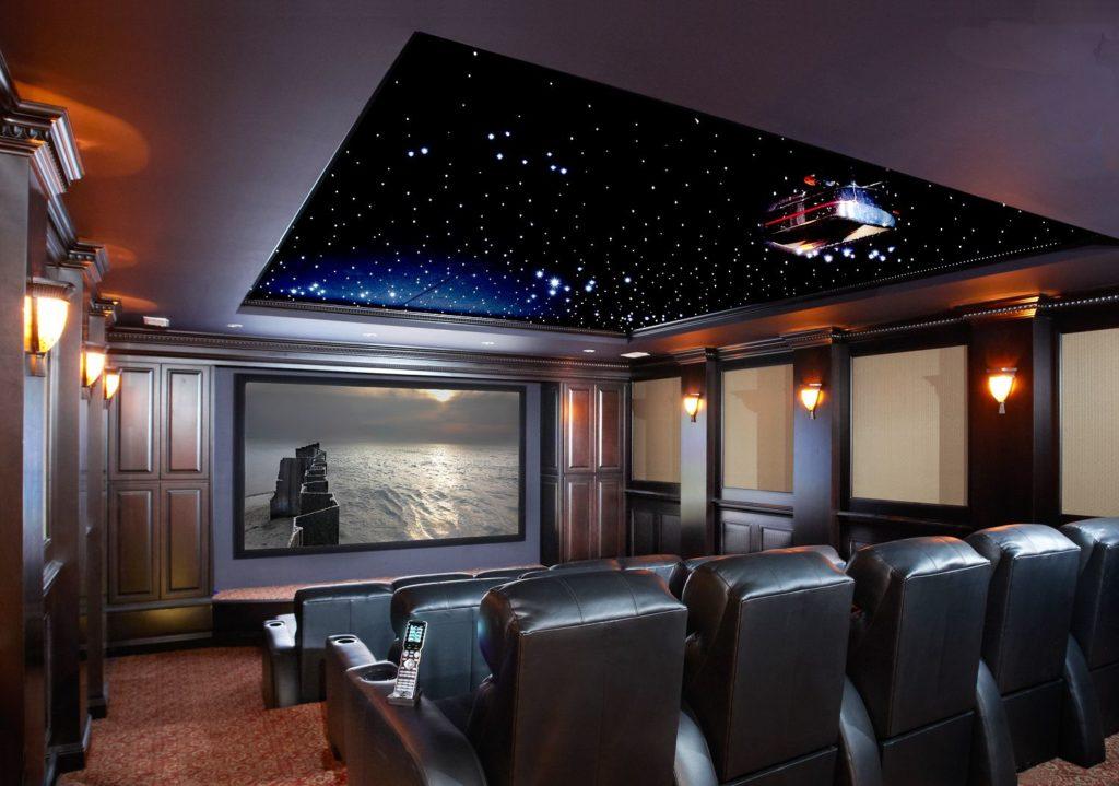 home cinema casa proyector