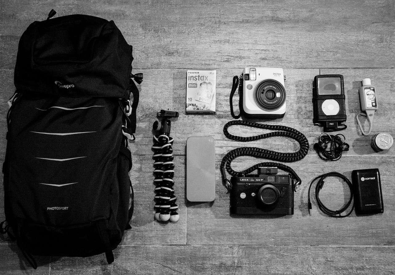 mochilas para cámaras de vídeo y viajar