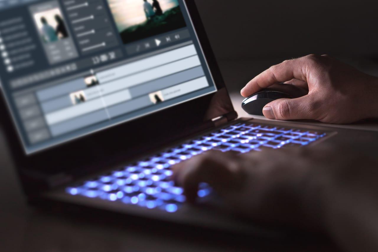 portátiles edición de vídeo