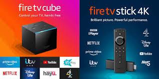 fire tv cube vs stick 4k