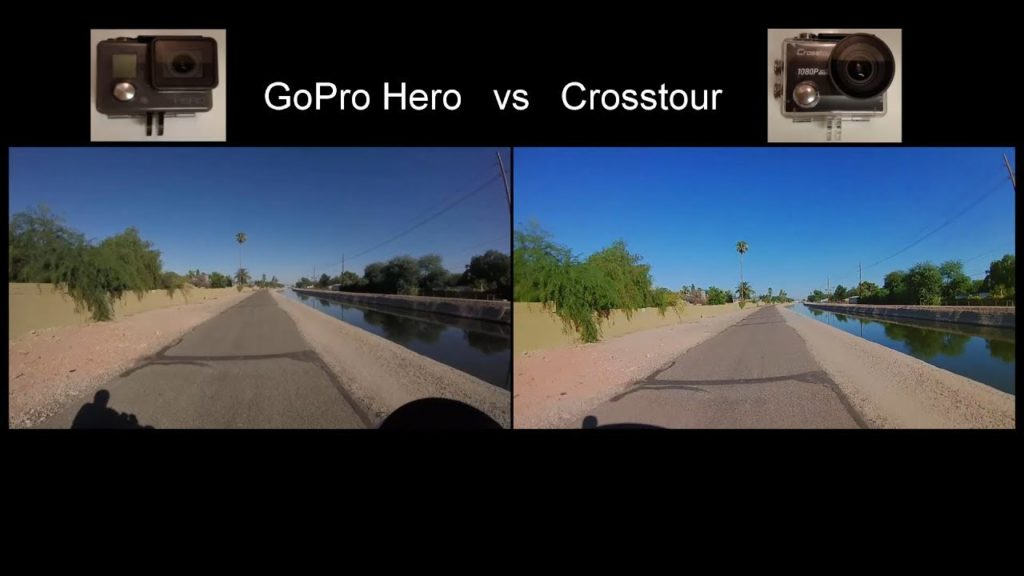 go pro hero vs Crosstour CT9500
