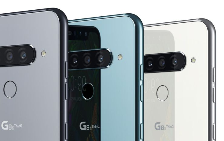 diseño LG g8s