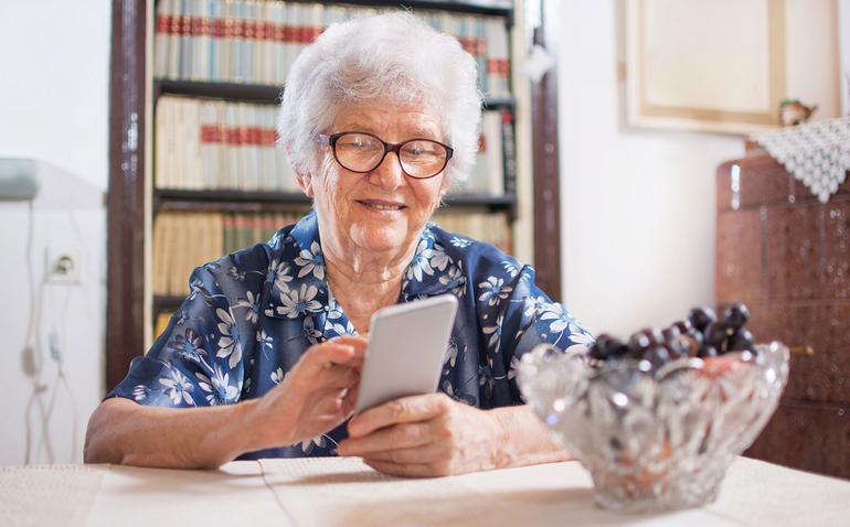 móviles para abuelos