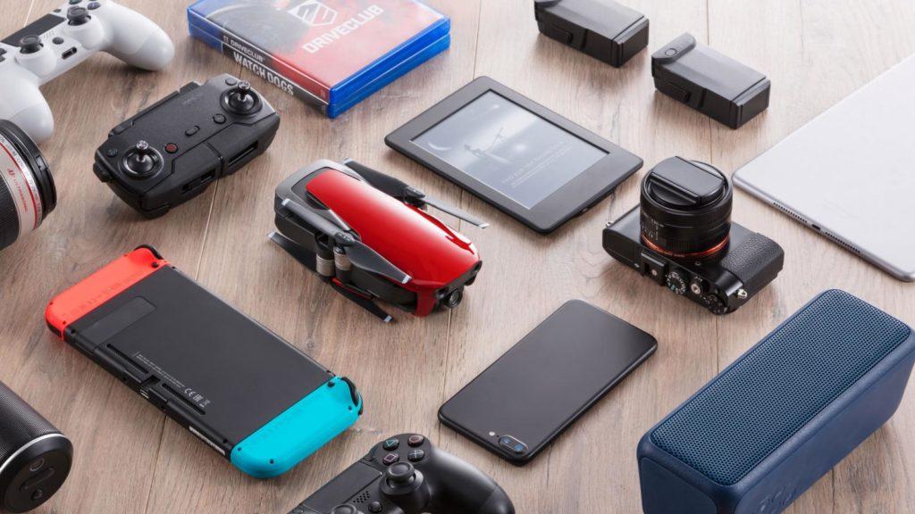 gadgets electrónica vídeo