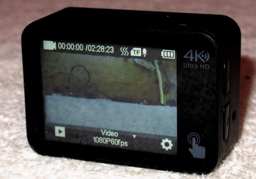 campark x30 pantalla